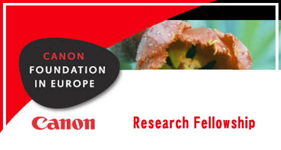 Canon-Foundation-In-Europe-Research-Fellowship
